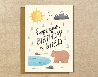 Wild Birthday | Birthday Card