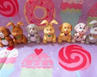 Vintage Itzy Bitzy Pals Lot (Littlest Pet Shop Fakies)