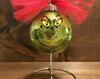 The Grinch Christmas ornaments,Grinch Ornament , Christmas ornaments, Dr Seuss