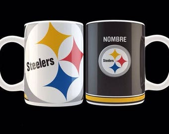 Personalized mugs with NFL teams