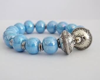 Olympus bracelet blue