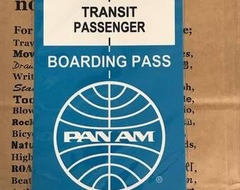 Traveler's Note 2016 PAN AM Limited Plastic Sheet Regular Size 40216006 Traveler's Factory Midori Designphil Rare Free Shipping Made in JP