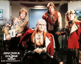 Star Trek II: The Wrath of Khan (1982) Set of 10 French Lobby Cards