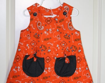 Gils 3T Oklahoma State University Dress