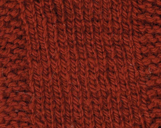 GARNET 2 ply kettle dyed size 4 worsted weight wool yarn from our USA farm