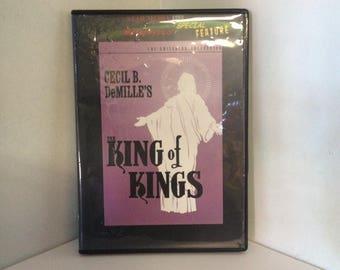 The KING Of KINGS (1927) Biblical DVD