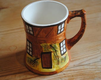 Price Kensington Cottage Ware Large Tankard Large Mug 1940/60's Approx 4.5 inches high Cottage Ware Thatch Cottage Cottageware