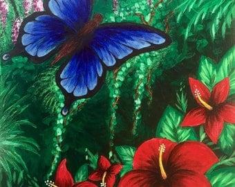 Butterfly Art Print-Butterfly Jungle