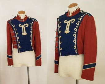Vintage 1960s Marching Band Jacket