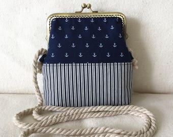 Ironing bag/shoulder bag/handbag: anchor