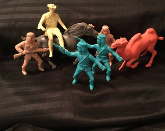 1950s Roy Rogers play figures
