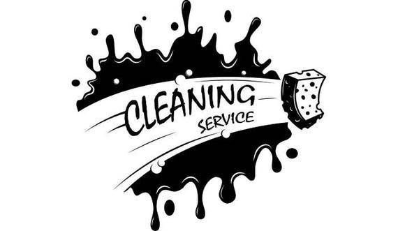 Building Cleaning Service Logo : Cleaning logo maid service housekeeper housekeeping clean