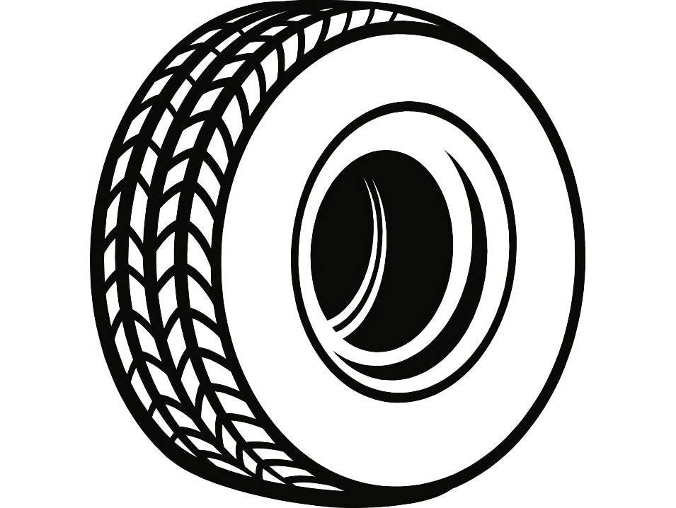 Tire 1 Rim Wheel Mechanic Engine Repair on Motorcycle Tires