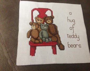 7x6.75 Bear Cross Stitch