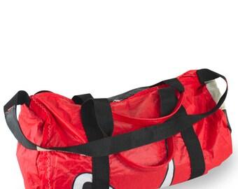One Eye Duffle Bag - bag made from recycled kitesurf sails