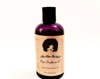 DEEP CONDITIONER OIL/Butter mix with protein restores moisture for hair growth, healthy, shiny hair and to relieve dandruff.