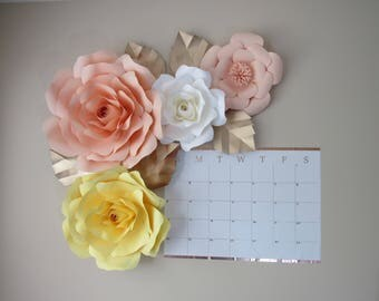 Large Paper Flowers/ Nursery Decor *****Color Customize your Order*****