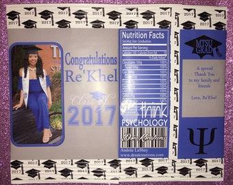 Graduation Chip Bags