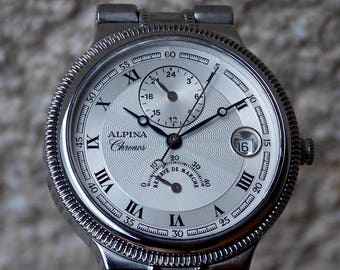 Alpina Chronos,LIMITED-ONLY 333 pieces on the World,DualTime,Reserve power indicator,ETA2892/A2