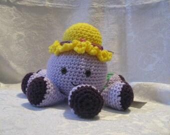 Octopus with sun bonnet