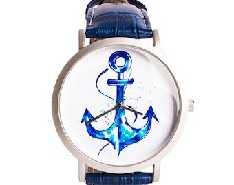 BiggDesignAnemoSS Anchor Men's Wrist Watch