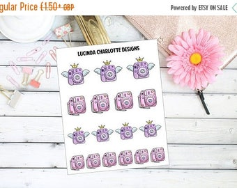 Last Call 40% Off Instax Instant Cameras - Planner Stickers