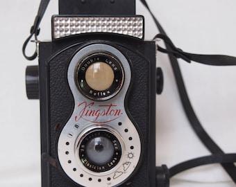 Kingston Double Lens Toy Reflex Camera 1960's