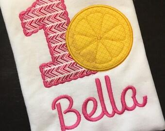 Lemonade birthday shirt