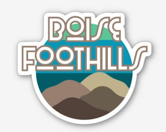 Boise Foothills - Sticker/Decal