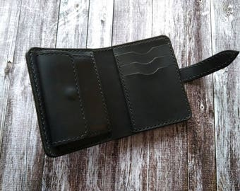 Leather Bifold Wallet.Gift for HIM,for Men,for Dad,for Groom,for Hasband.3th anniversary Gift.Valentine's Day Gift.Birthday Gift