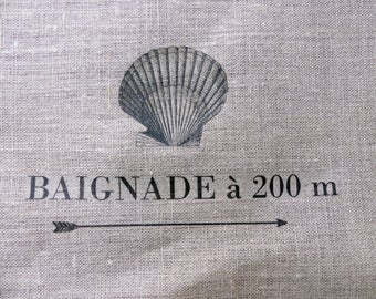 fabric sewing graphics seaside