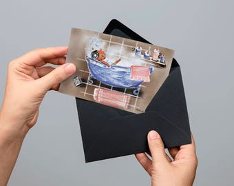 Digital postcard