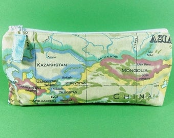 Toiletry Bag World Map