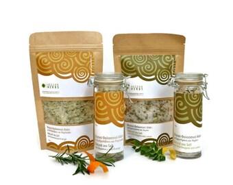 Gourmet Sea Salt Selection. Pack of Eight Sea Salt Units