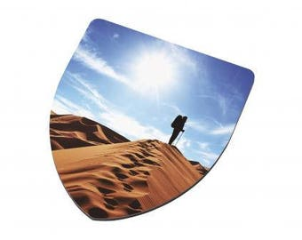 Personalised Shield Shape MDF Coaster