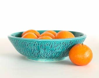 Green Ceramic Handmade Bowl