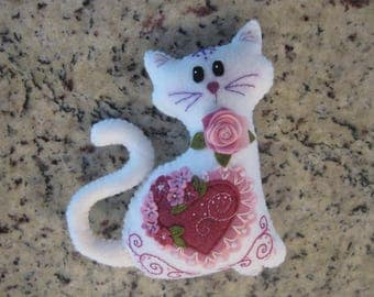 Lacey the Valentine Cat