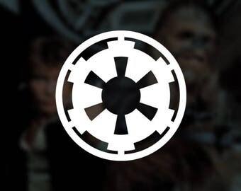 Star Wars - Galactic Empire Insignia Decal Vinyl