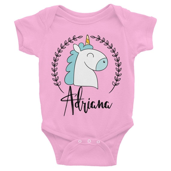 Custom name baby onesie, personalized name onesies, unicorn onesie with name, baby onesies, custom onesie, personalized onesie, name onesie