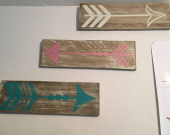 Rustic Arrow Wall Decor