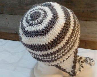 Target Crochet Ear flap Hat
