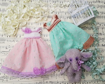 Blythe dress. Dress for Blythe, blythe clothes.