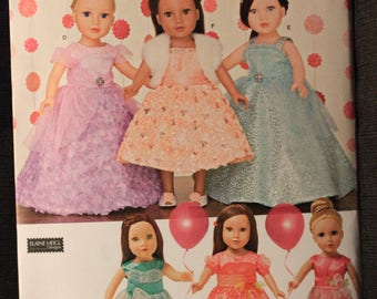 Simplicity 1135   Elaine Heigl Design 18 in Doll Clothes