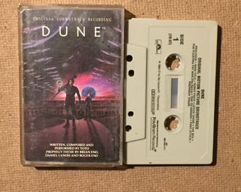 Dune : Soundtrack (Cassette Tape)