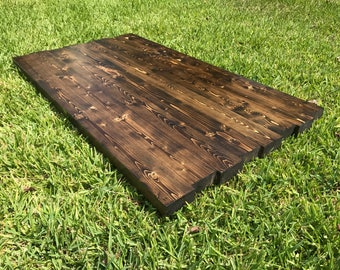 Rustic Reclaimed WOOD Table Top Bar Restaurant Farmhouse Urban Rustic  Shabby Chic Custom