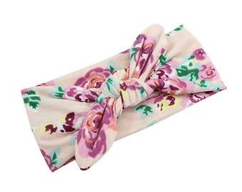 Floral Knot Headbands