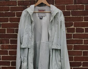 Vintage Pacific Trail Wind Breaker Jacket Size Extra Large