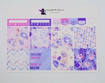 Happy Planner mini weekly sticker kit, Planner stickers, Wild Air