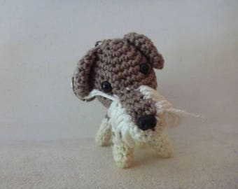 door-head amigurumi dog