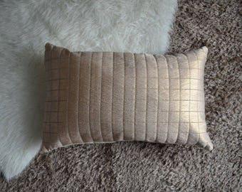 """Pillow Cover, Hand made pillow case, 20""""x20"""", Golden Cushion cover, pillow cover, Decorative pillow cover"""